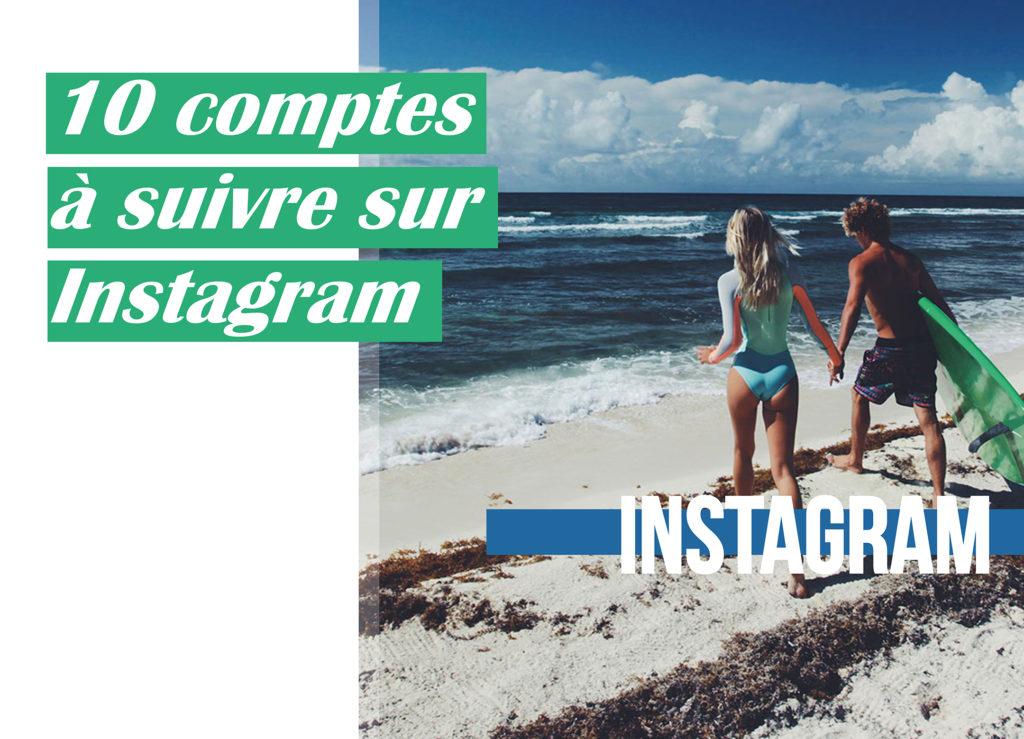 10 compte suivre instagram