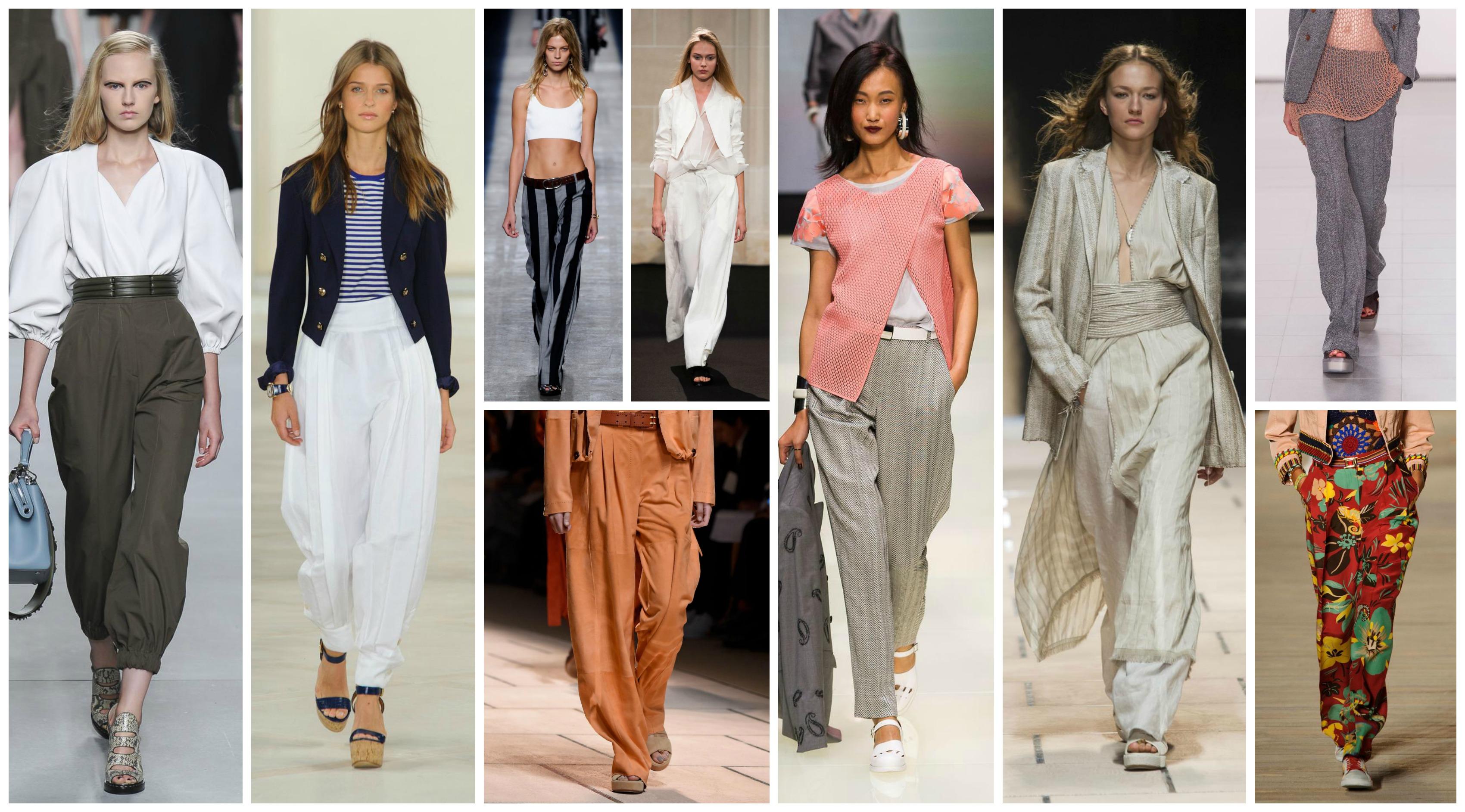 pantalon ample tendance été 2016