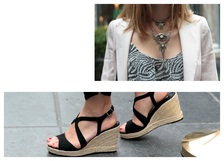 sandales zalando veste zara suchagirl blog ootd