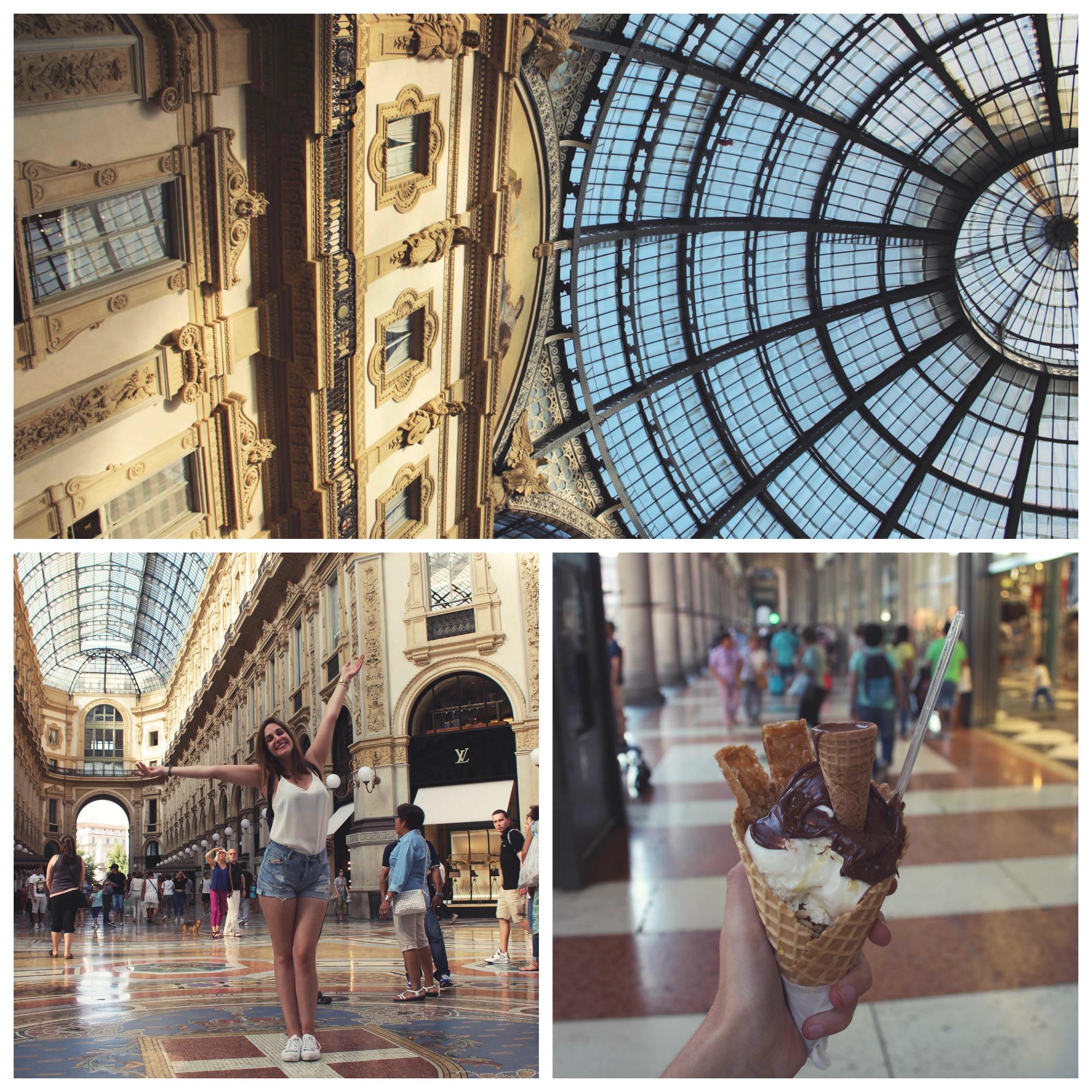 city trip à milan : a voir galleria vittorio emmanuele