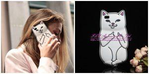 Nouveau Chat Lapin Point Ripndipp Sulley Bonjour Kitty Étui En Silicone Pour Huawei P8 lite Couverture de Téléphone