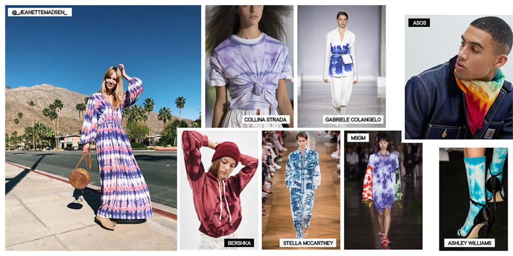 tendances été 2019 tie dye