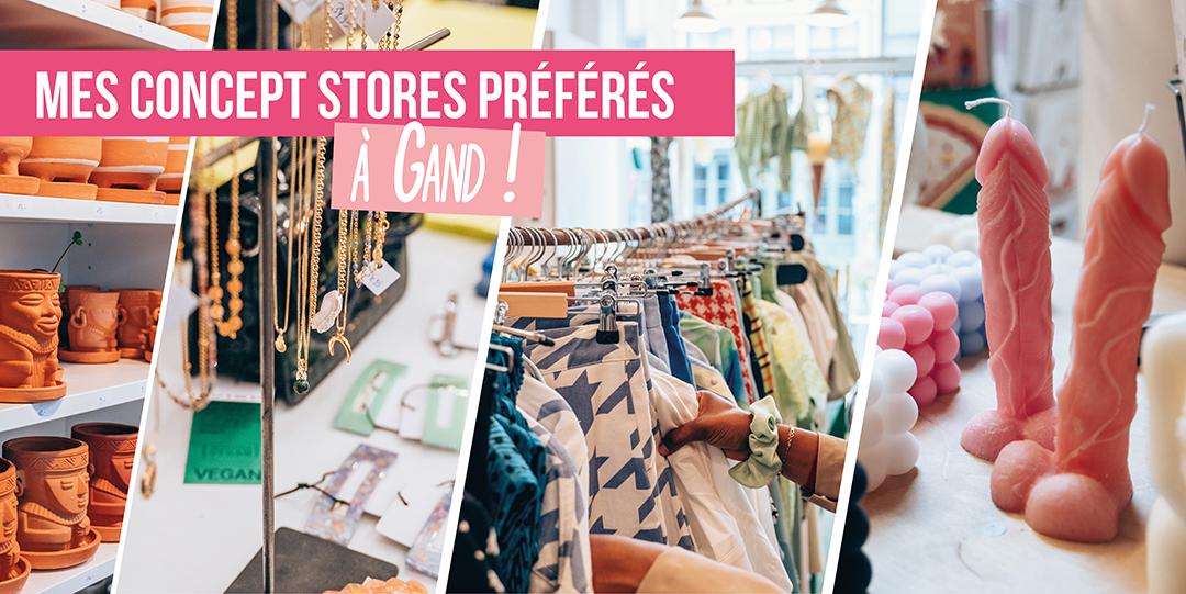 concept stores stylés a gand